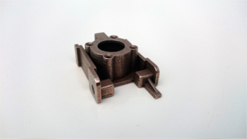 Component in metal 3D printing